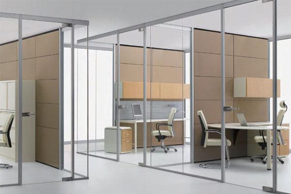 cửa kính thủy lực cho văn phòng