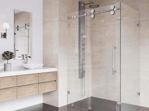 Thi công vách kính phòng tắm cho công trình xây dựng: Nên hay không?