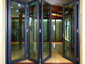 Top 3 mẫu cửa đi nhôm Xingfa xếp gấp giúp mở rộng không gian tối đa